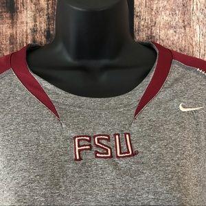 Nike Team FSU Long Sleeve FITDri Shirt XXL